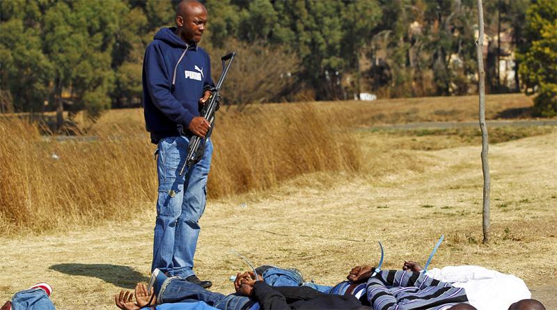 Africa Gun Crime