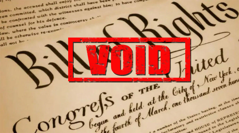 Void Bill of Rights