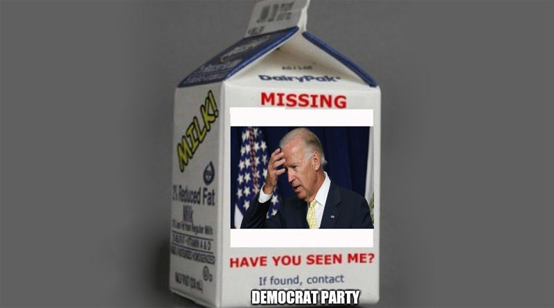 Missing Joe Biden Where Am I