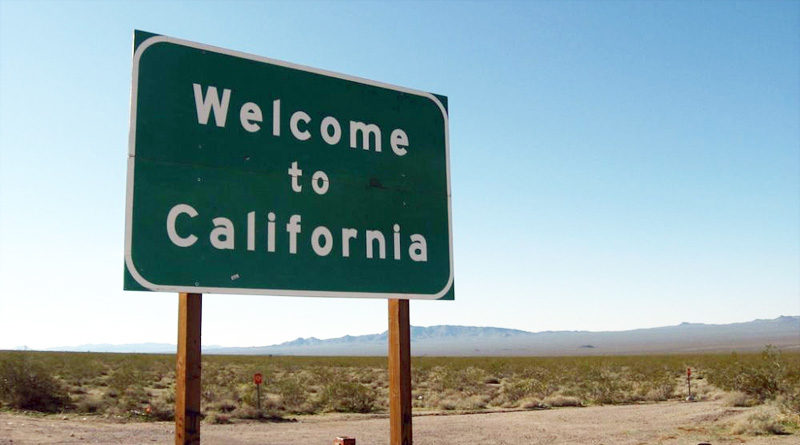 California Welcome