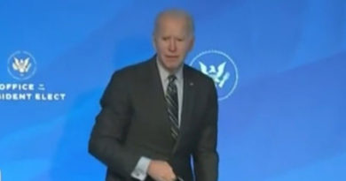Joe Biden Looks Totally Lost and Confused After Finishing Up Speech in Delaware (VIDEO)